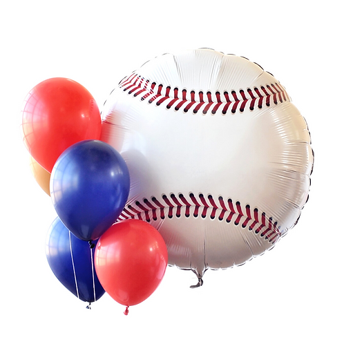 Baseball Foil Balloon