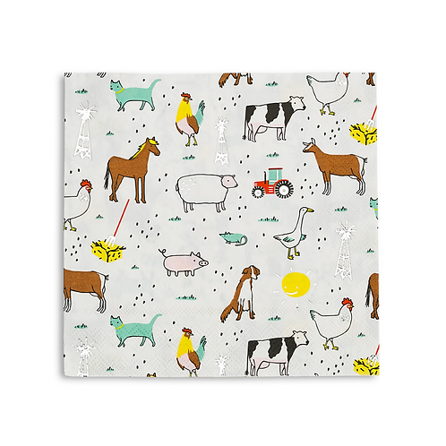 Farm Party Napkins