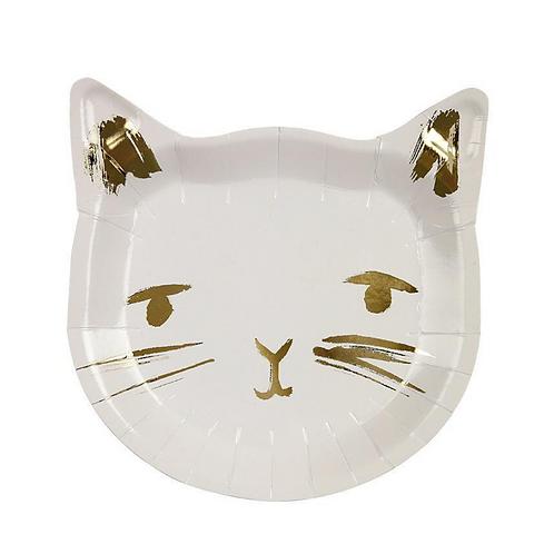 Kitten Party Plates