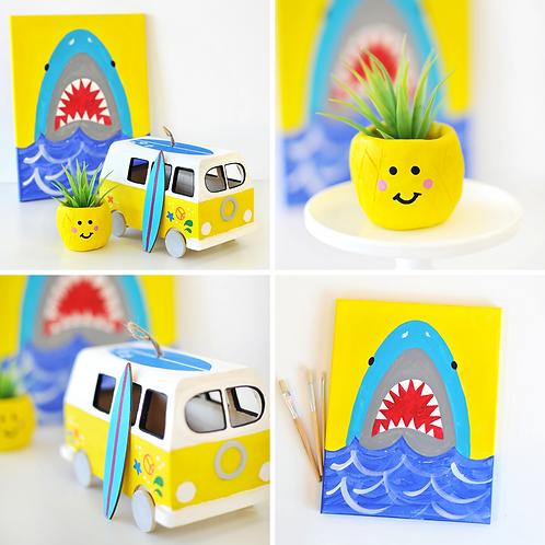 Surf's Up Virtual Art Camp