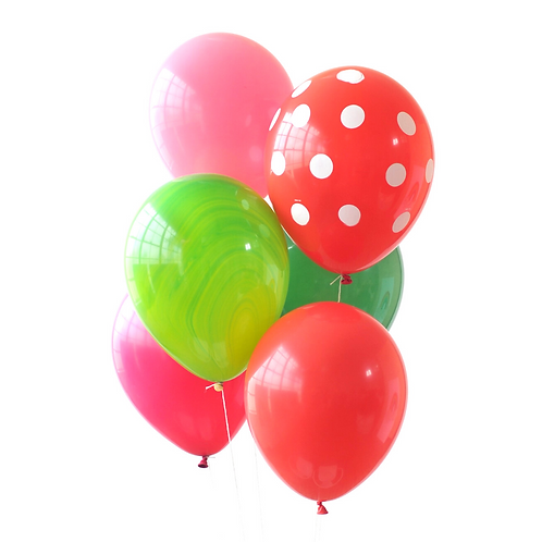 Watermelon Party Balloons