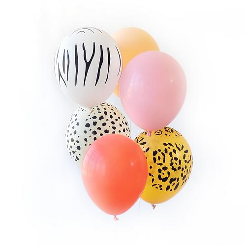 Safari Party Balloons