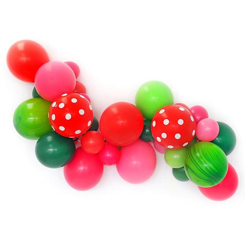 Watermelon Balloon Garland Kit