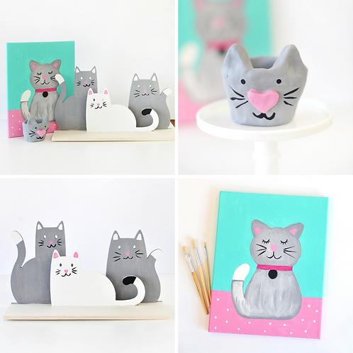 Kitten Virtual Art Camp