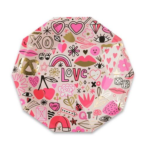 Love Party Plates