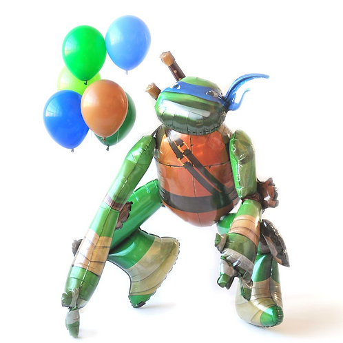 Ninja Turtle Airwalker Foil Balloon