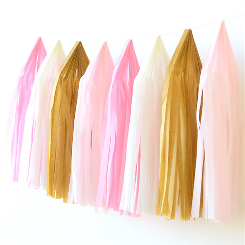 Princess Tissue Paper Tassel Garland Kit
