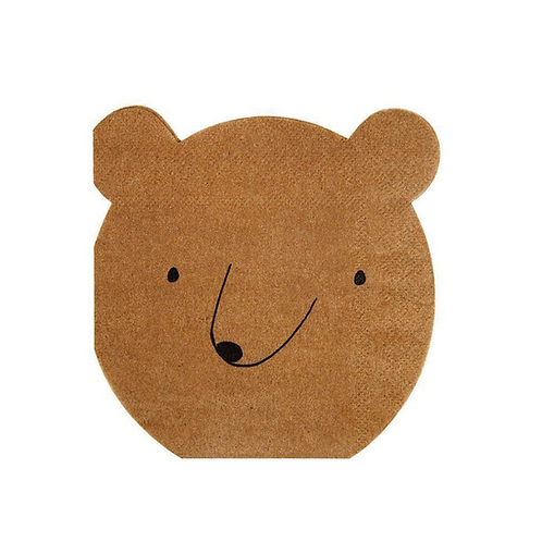 Little Bear Party Napkins