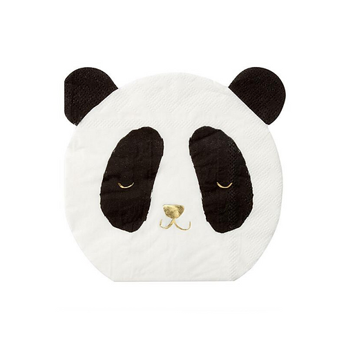 Panda Bear Party Napkins