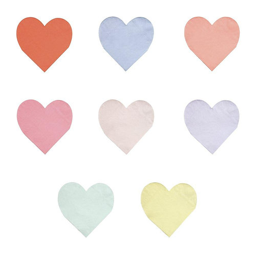 Heart Napkins