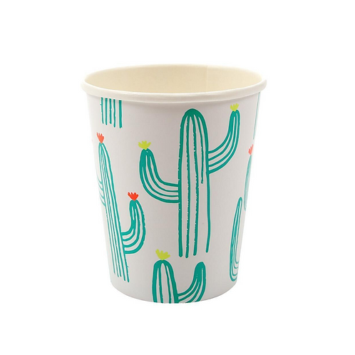 Cactus Fiesta Party Cups