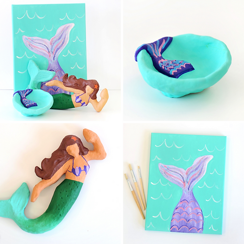 Mermaid Virtual Art Camp
