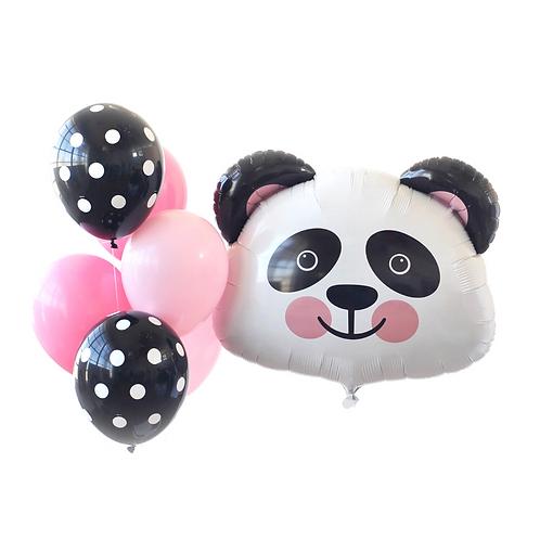 Panda Bear Foil Balloon