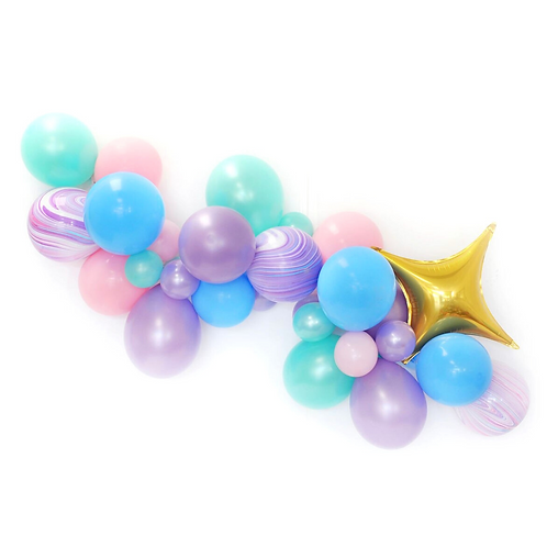 Magical Unicorn Balloon Garland Kit