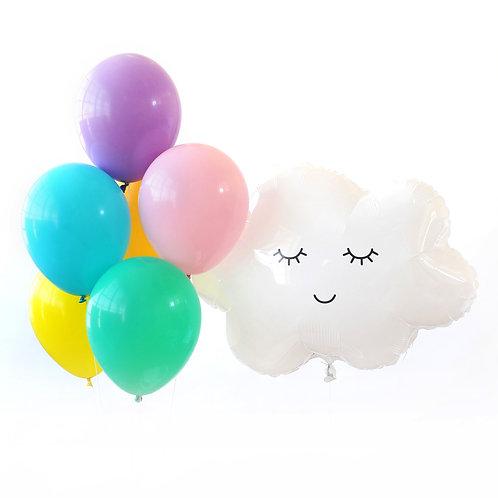 Dreamy Rainbow Party Balloons