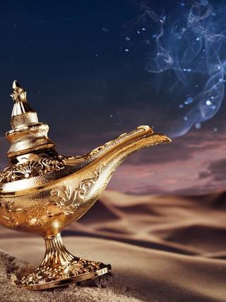 36. Путешествие с волшебной лампой