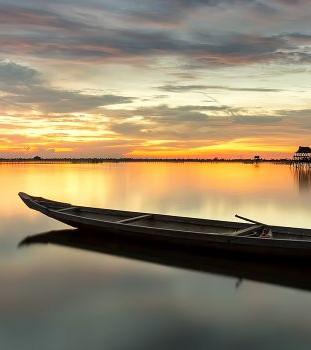 95. Пустая лодка
