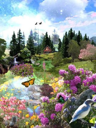 48. В райском саду (на небесах)