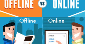 Digital Marketing Budgets v.s Offline Marketing Budgets