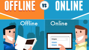 Digital Marketing Budgets v.s Offline Marketing Budgets
