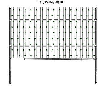 HydroFresh hydroponic system tall/wide/waist