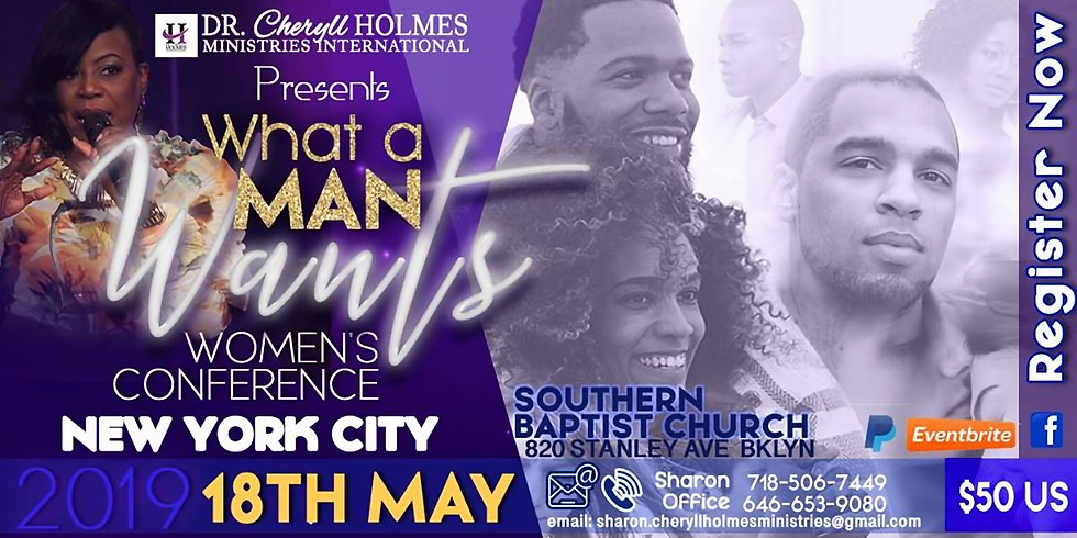 What A Man Wants- Women's Conference NYC