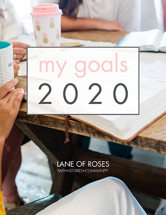 E-BOOK: My Goals 2020