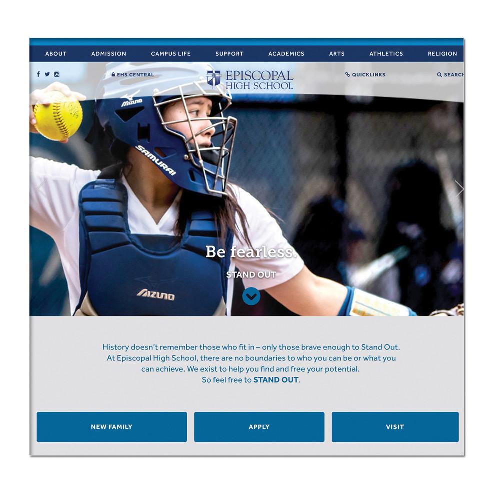 Content Driven Database Website: