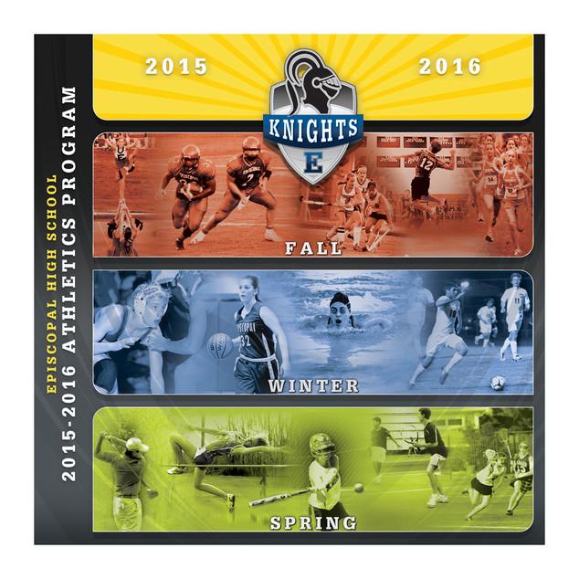 Athletics Program with Seasonal Inserts