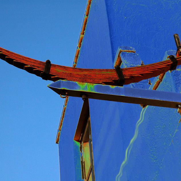 Muelle azul
