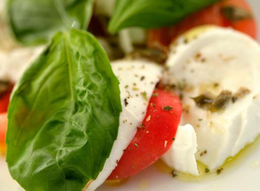 The Beautiful Caprese Salad