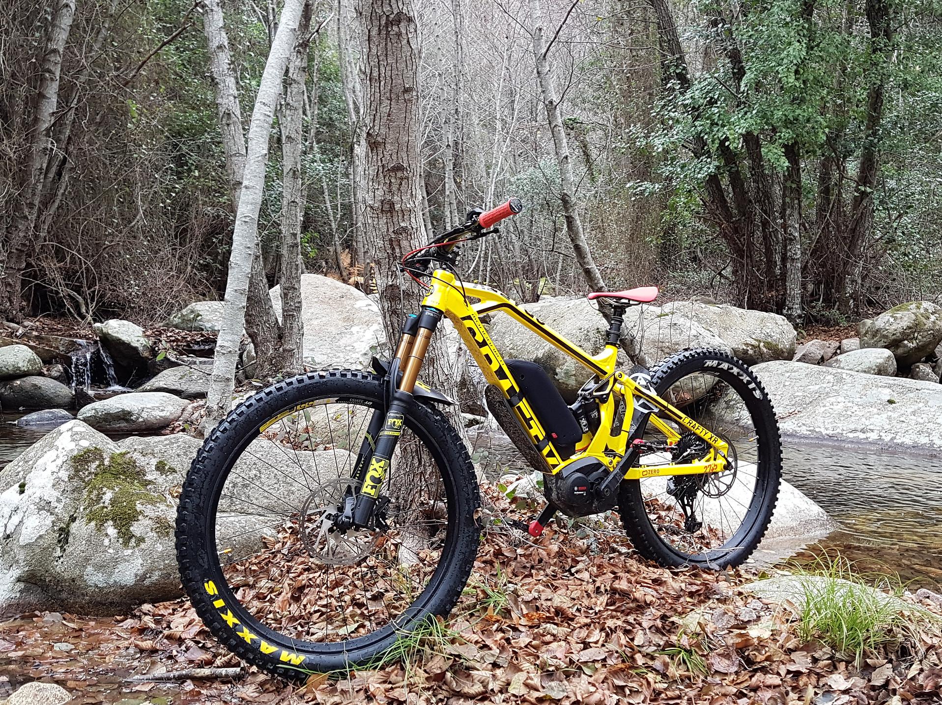 Fantic e-bike in Gallura