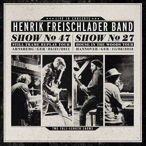 HENRIK FREISCHLADER BAND Live In Concerts