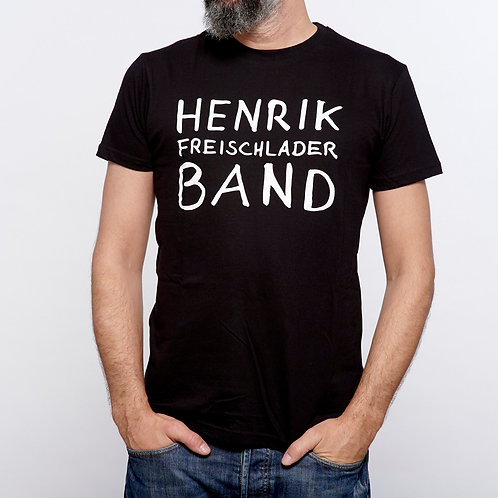 """HENRIK FREISCHLADER BAND T-Shirt """"Logo"""""""