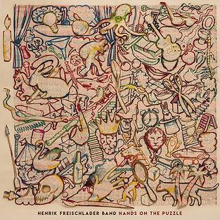 Henrik Freischlader Band Hands on the puzzle