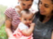 Couple de lesbiennes avec bébé