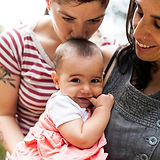 Lesbian Couple with Baby