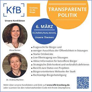 Transparente Politik