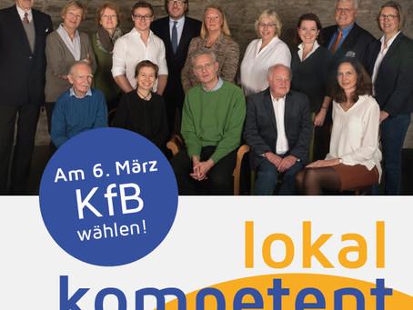Die neuen KfB-Wahlplakate