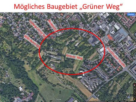 Spekulation am Grünen Weg?