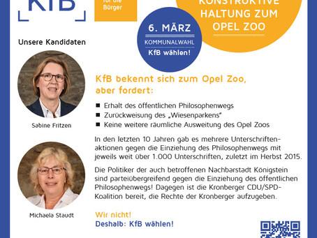 Kritisch konstruktive Haltung zum Opel-Zoo