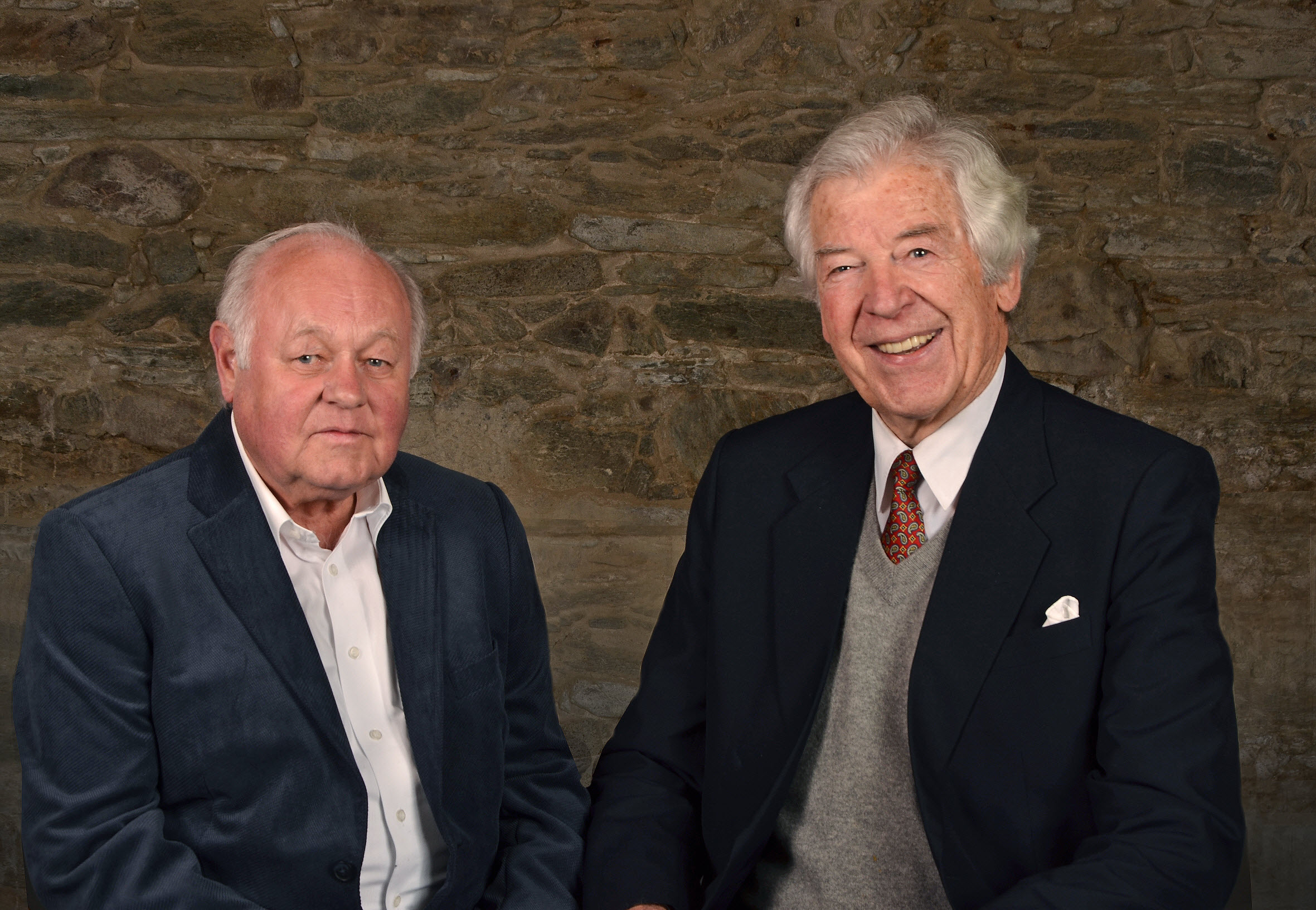 Rolf Otto und Klaus Lunau