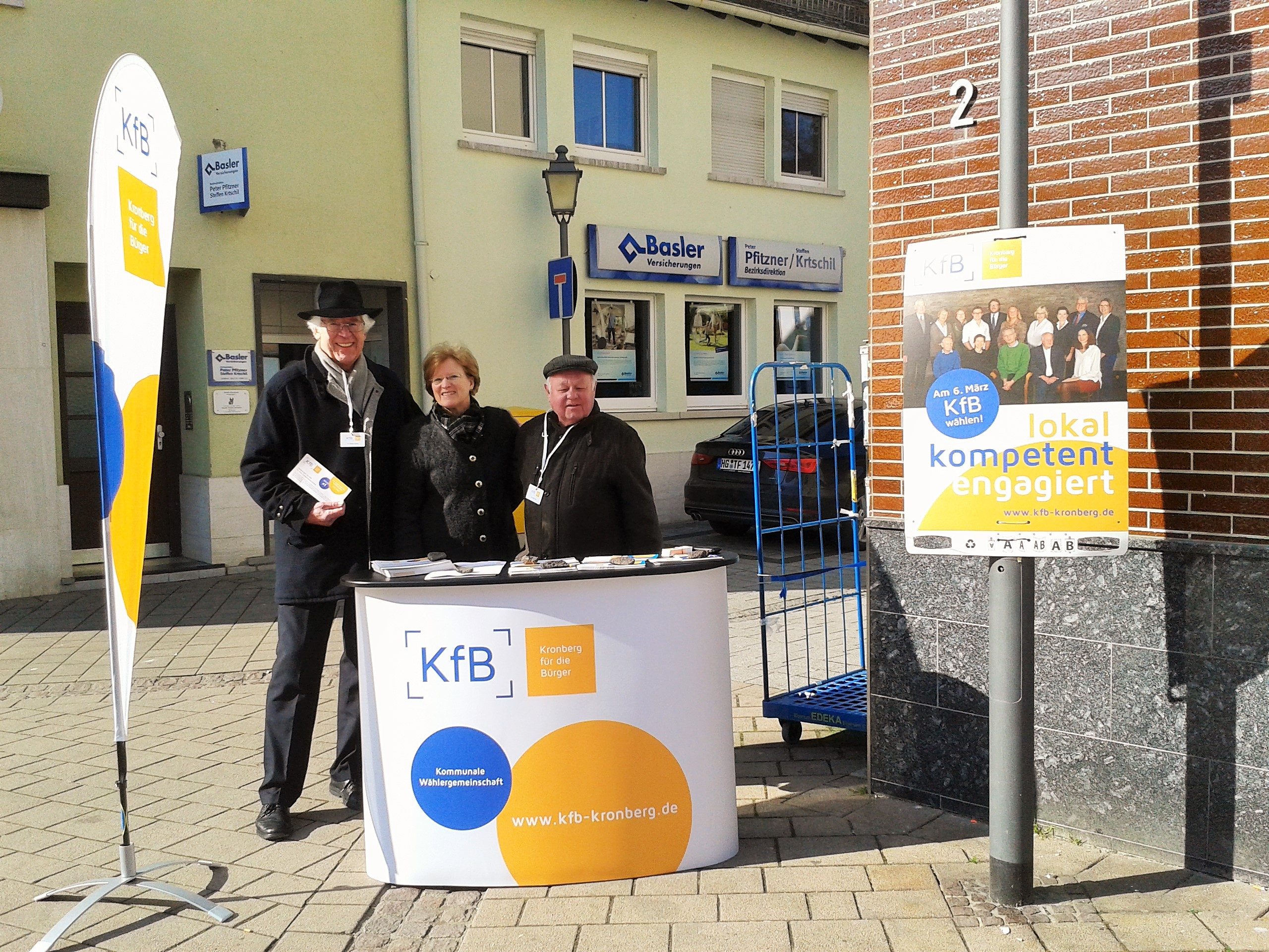 Wahlkampf in Oberhöchstadt