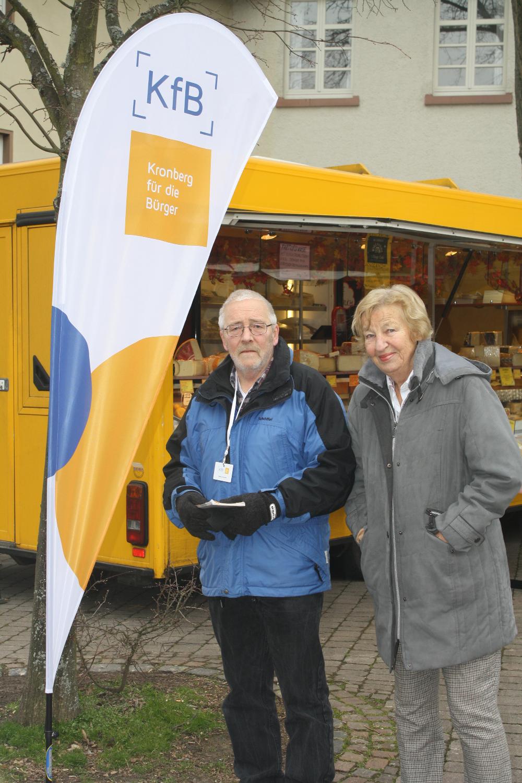 Wahlkampf in Schönberg
