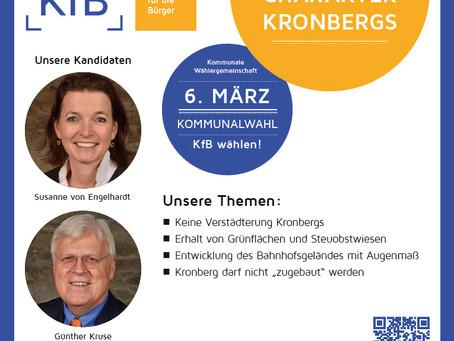 KfB steht für Stadtentwicklung mit Augenmaß