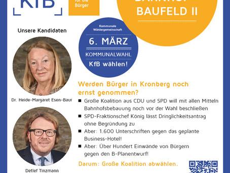 Haben Bürger in Kronberg noch eine Stimme?