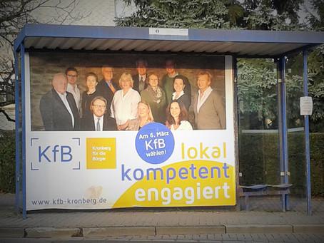 Die KfB-Bushaltestelle