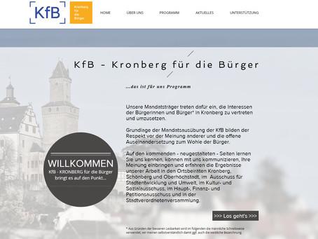 KfB mit neuem Außenauftritt