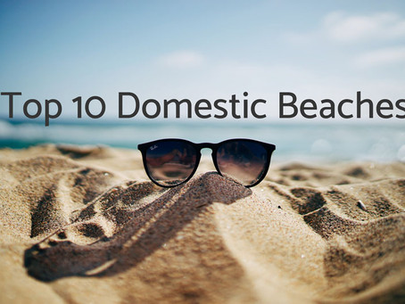 Top 10 Domestic Beaches