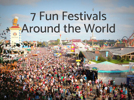 7 Fun Festivals Around the World